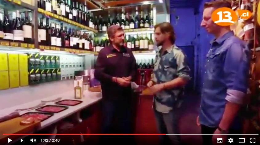 Canal 13 nos entrevistó en nuestra tienda de Barcelona