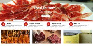 Nueva versión de nuestra tienda online de venta de jamones y embutidos ibéricos